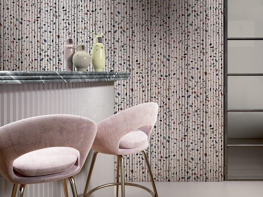 Geometric GlamFusion™ wallpaper PIQUANT by GLAMORA