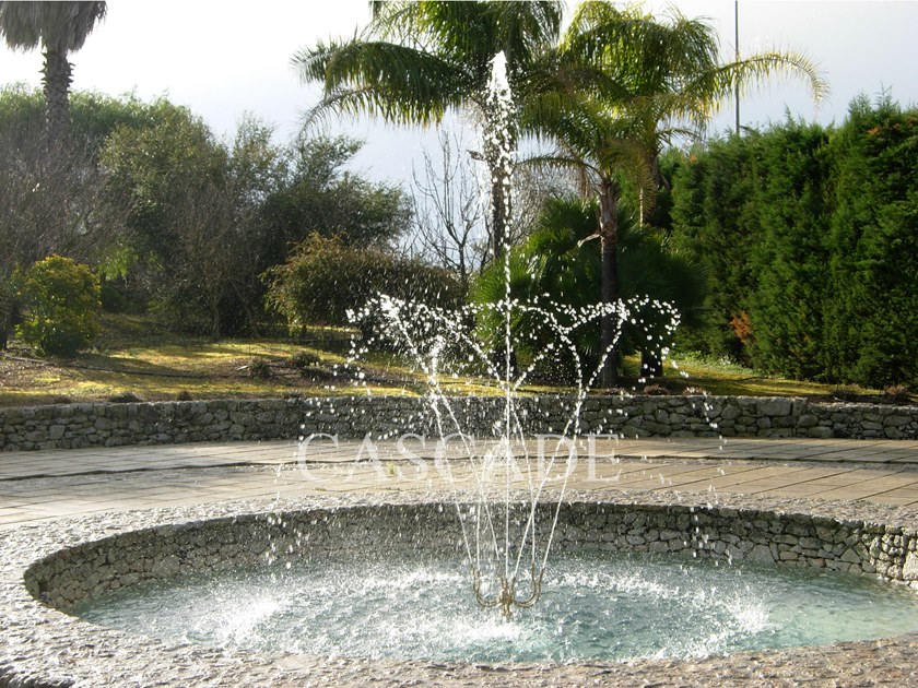 Brass Fountain nozzle PIROUETTE by CASCADE
