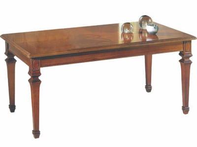 Tavolino rettangolare in legno massello PISA   Tavolino rettangolare by Arvestyle