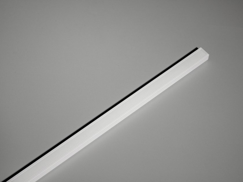 Ceiling mounted Linear lighting profile for LED modules PISTA | Linear lighting profile by Modular Lighting Instruments