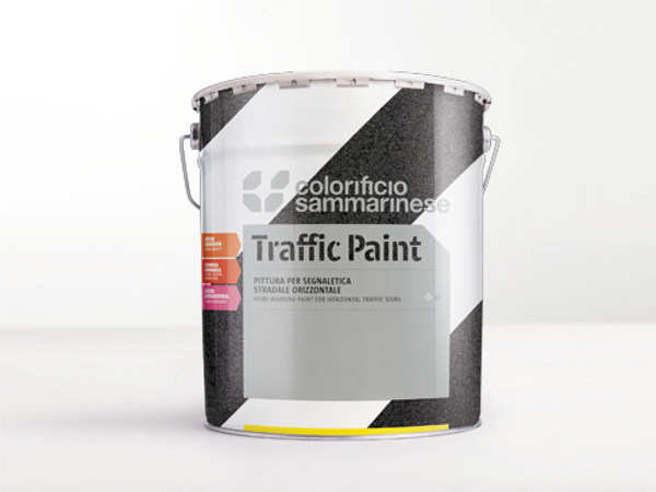 Road marking paint PITTURA TRACCIANTE by Colorificio Sammarinese