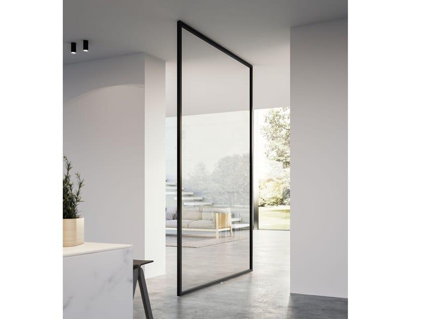 Porta a bilico in vetro QUADRA | Porta a bilico by ADIELLE