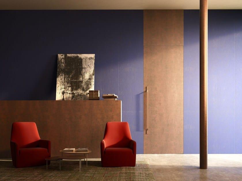 Porta a bilico verticale by linvisibile - Porta a filo muro prezzi ...