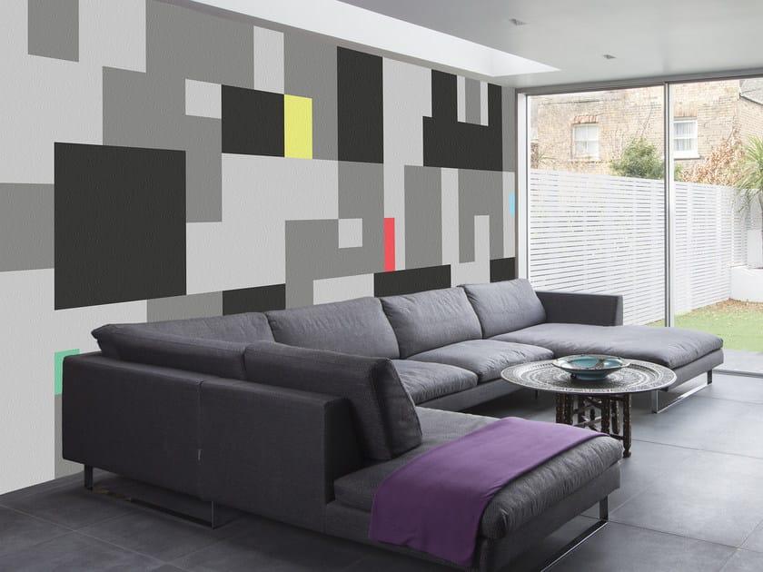 Geometric wallpaper PIXEL by Mat&Mat
