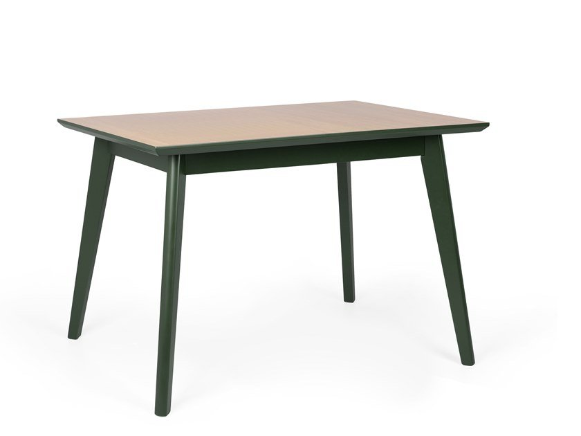 Rectangular wooden dining table PIXIE RECT by Fenabel