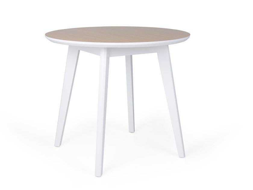 Round wooden dining table PIXIE RED by Fenabel