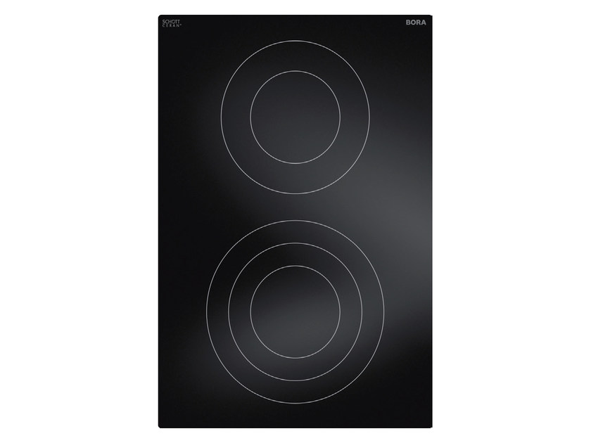 HiLight glass ceramic cooktop with 2 cooking zones PKC32 by BORA