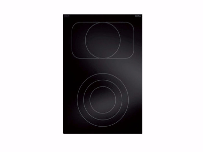 HiLight glass ceramic cooktop with 2 cooking zones PKC3B by BORA