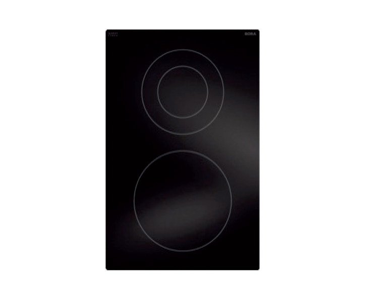 Hyper glass ceramic cooktop with 2 cooking zones PKCH2 by BORA