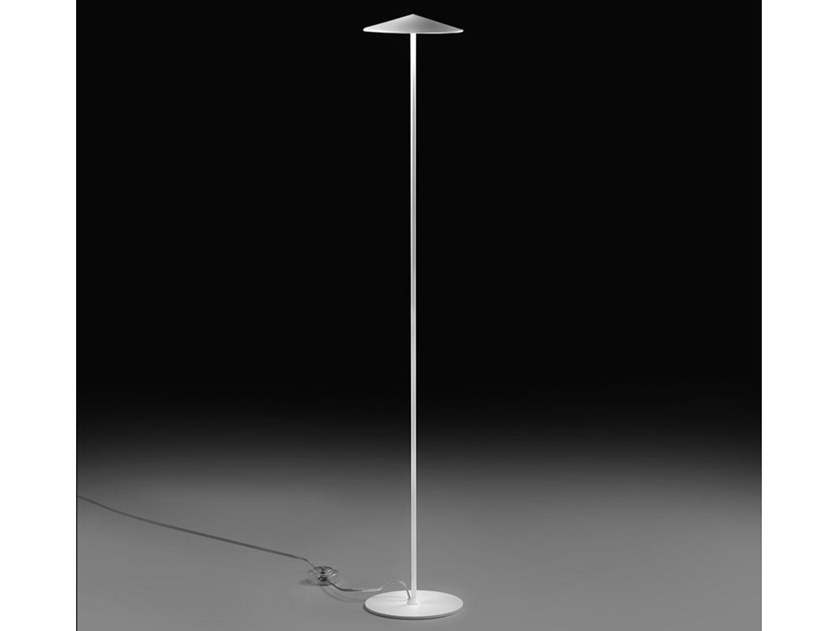LED aluminium floor lamp with dimmer PLA 6602 by Milan Iluminacion