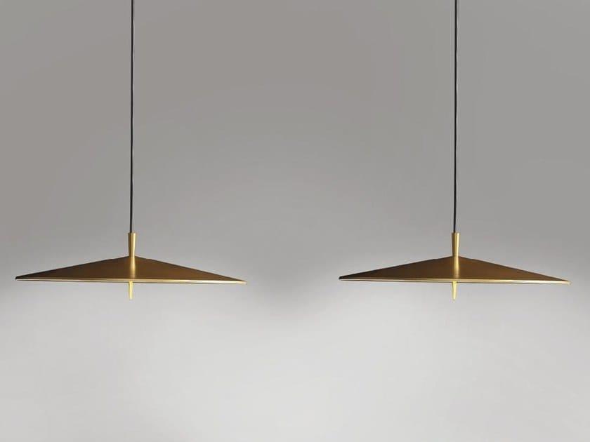 Lampada a sospensione a LED in alluminio con dimmer PLA 6645 by Milan Iluminacion