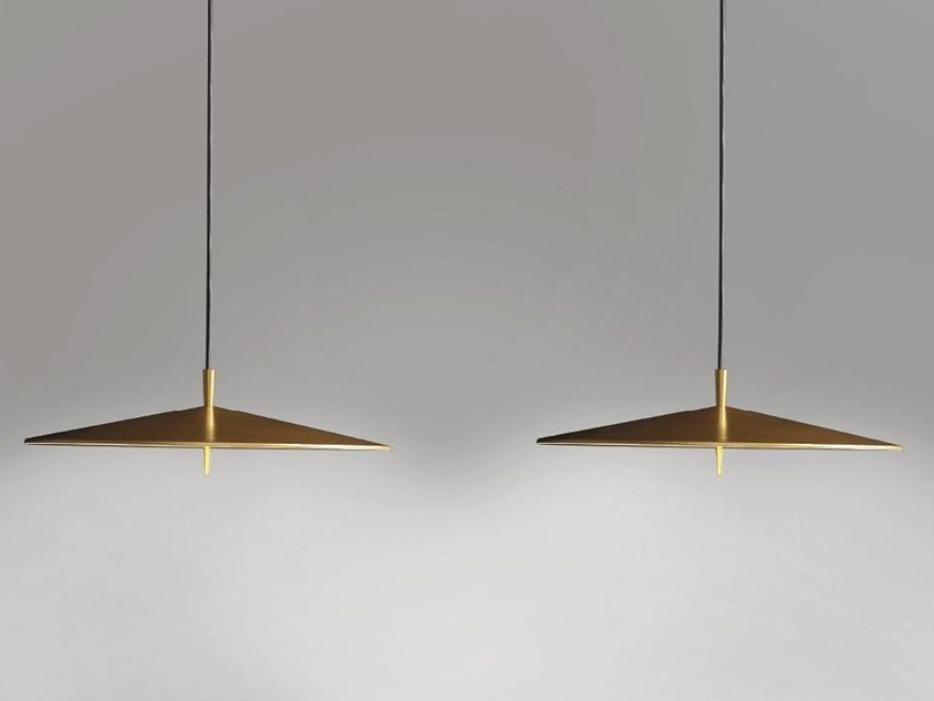 LED aluminium pendant lamp with dimmer PLA 6645 by Milan Iluminacion