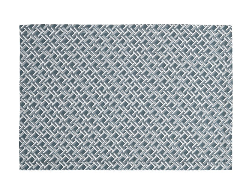 Rectangular cotton placemat CANNAGE | Placemat by Alexandre Turpault