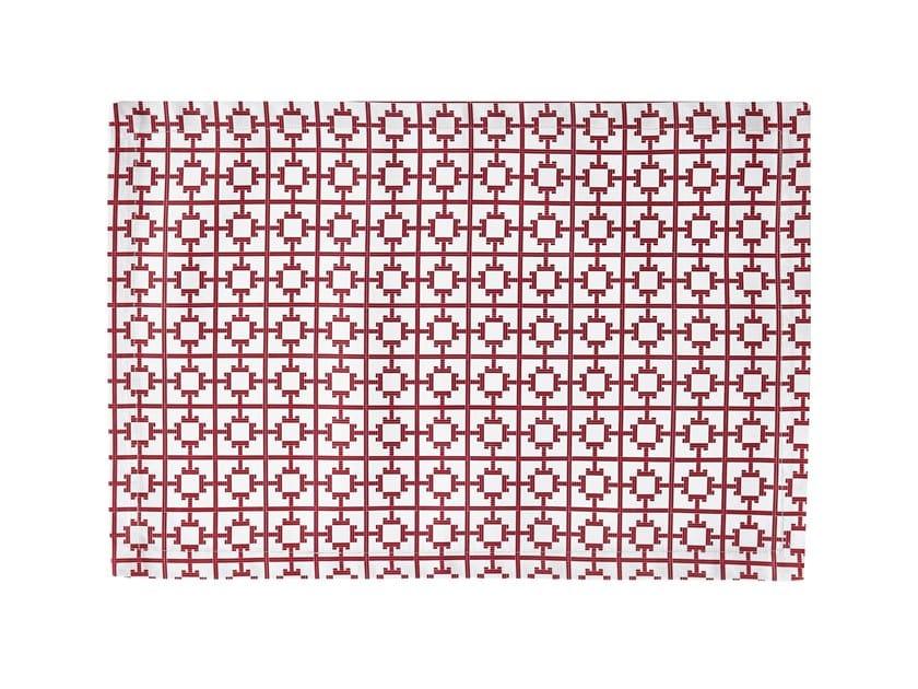 Rectangular cotton placemat LE GRAND T | Placemat by Alexandre Turpault