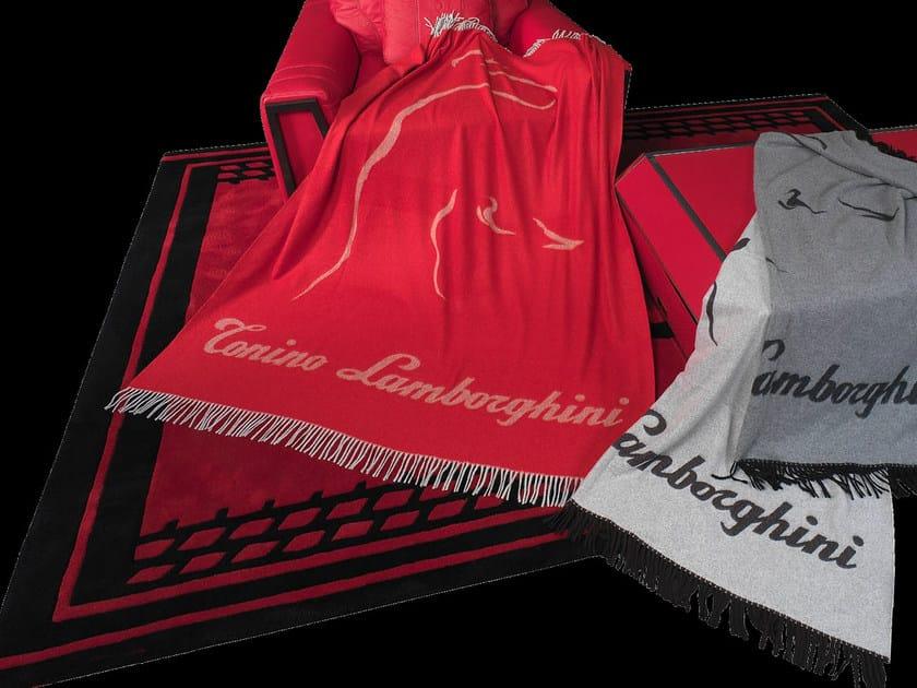 Cashmere lap robe WS124 by Tonino Lamborghini Casa