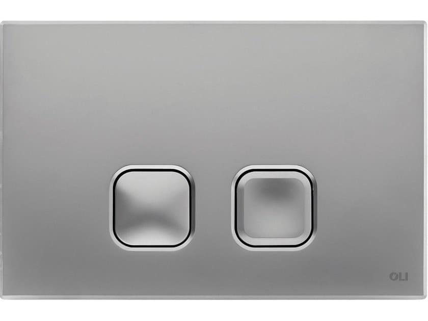 ABS flush plate PLAIN by OLI
