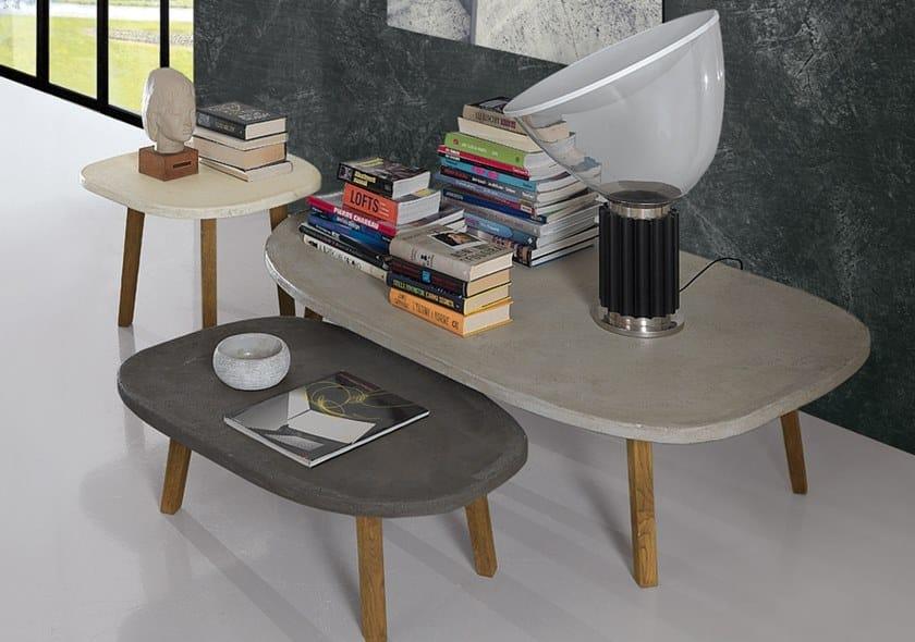 PLAN | Tavolino in cemento