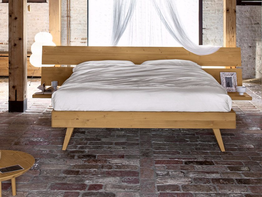 Spruce double bed PLANA | Double bed by Scandola Mobili