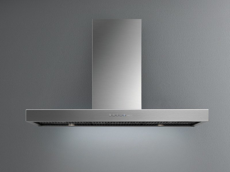 Wall-mounted stainless steel cooker hood PLANE ON DEMAND by Falmec