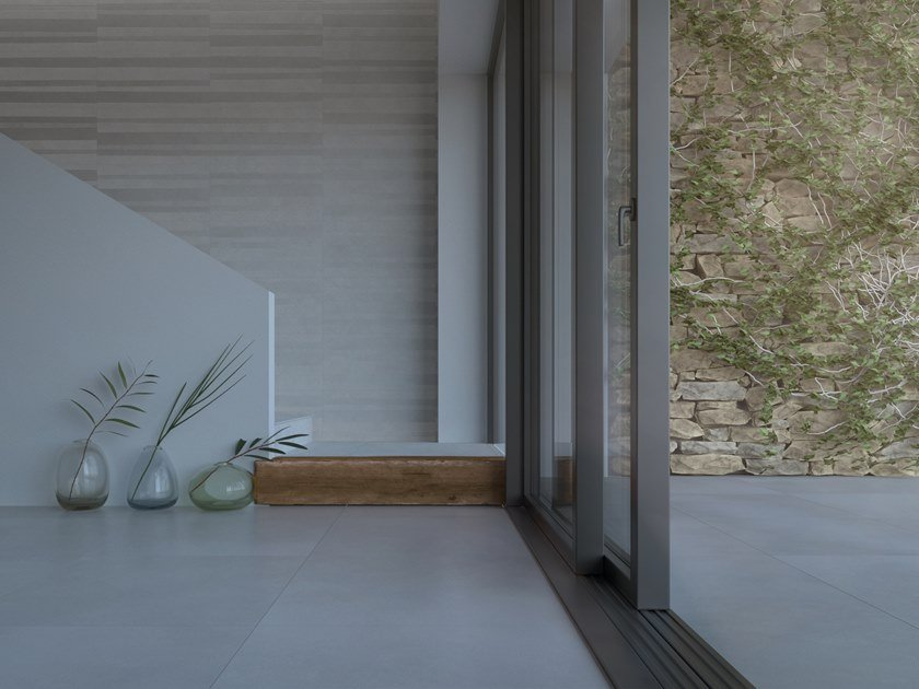 Indoor/outdoor wall/floor tiles with concrete effect PLANET by PERONDA
