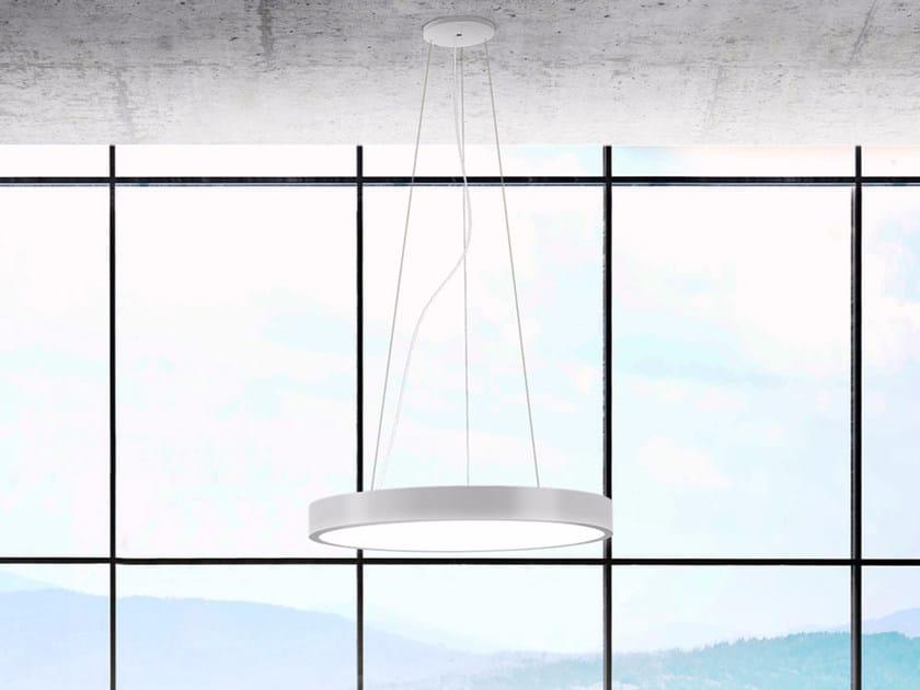 Lampada a sospensione a LED PLANET RING | Lampada a sospensione by PANZERI