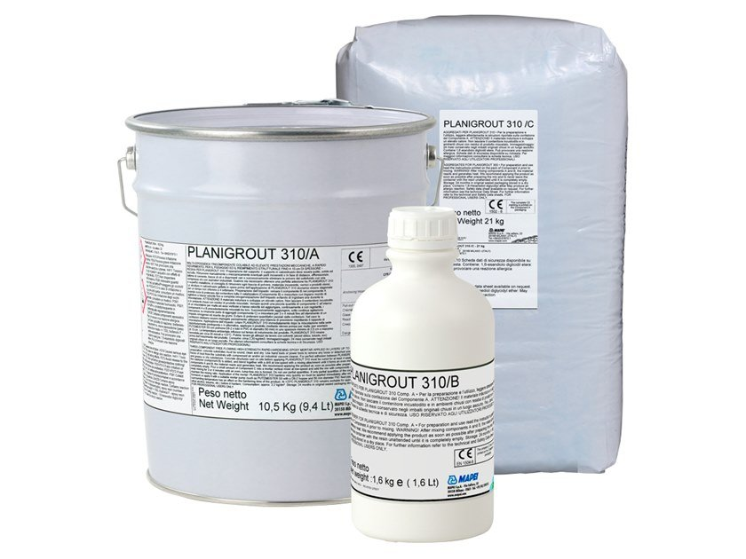 Structural adhesive PLANIGROUT 310 by MAPEI