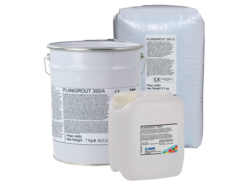 Structural adhesive PLANIGROUT 350 by MAPEI