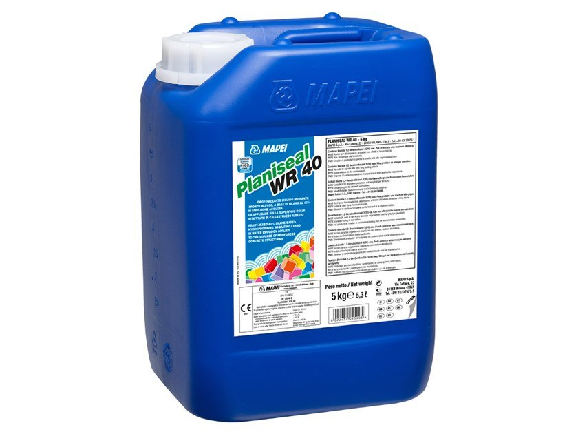 Surface water-repellent product PLANISEAL WR 40 by MAPEI