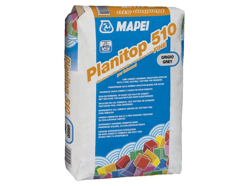 Smoothing compound PLANITOP 510 by MAPEI