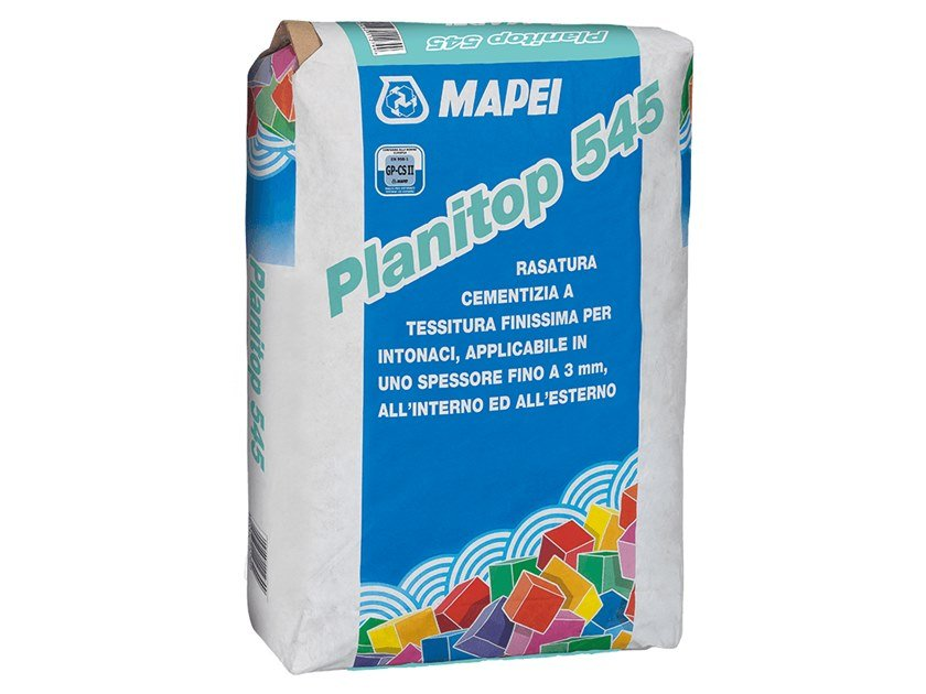 Smoothing compound PLANITOP 545 by MAPEI
