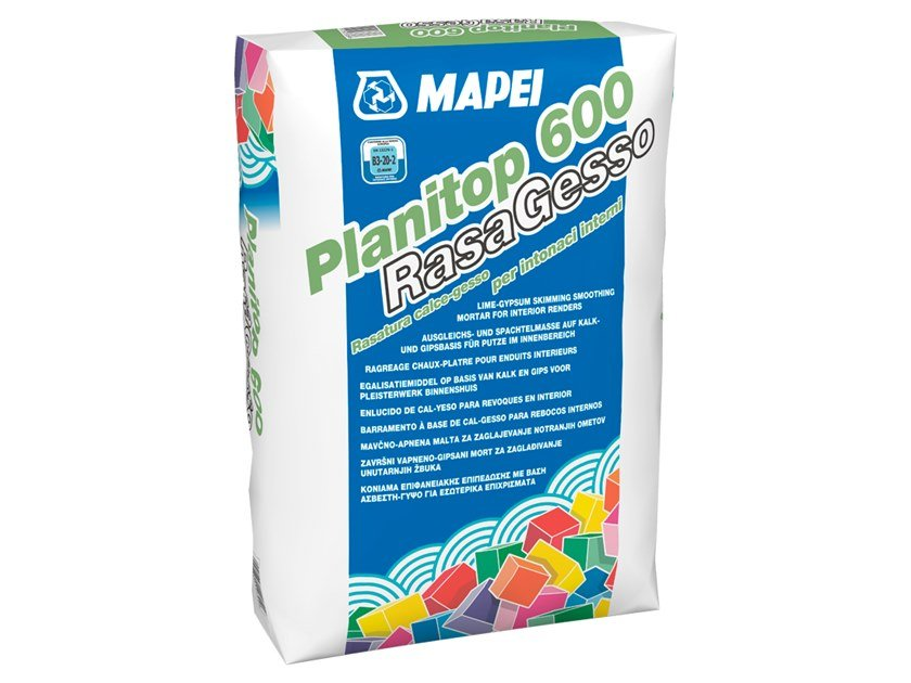 Smoothing compound PLANITOP 600 RASAGESSO by MAPEI