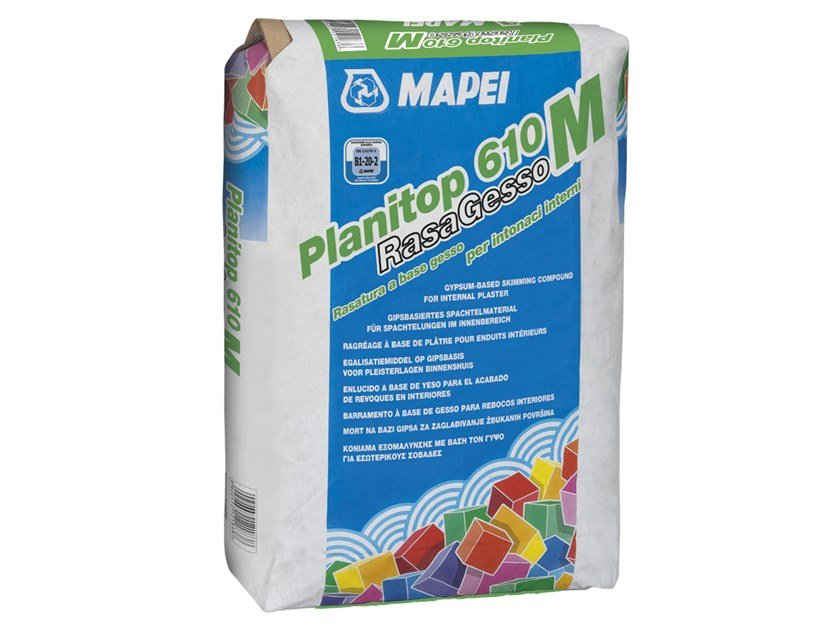 Smoothing compound PLANITOP 610 RASAGESSO M by MAPEI