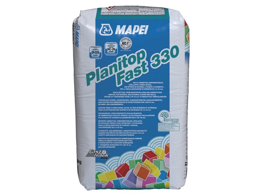 Fibre reinforced mortar PLANITOP FAST 330 by MAPEI