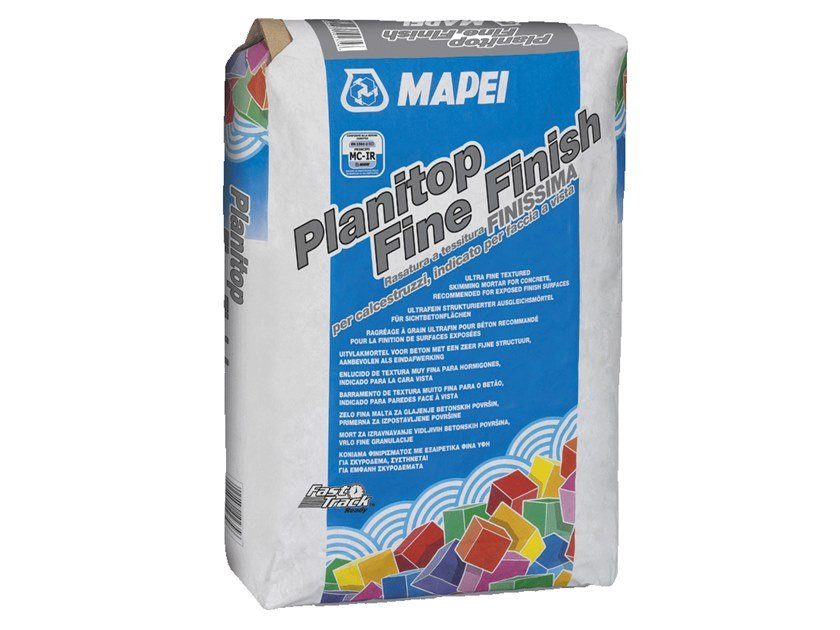 Smoothing compound PLANITOP FINE FINISH by MAPEI