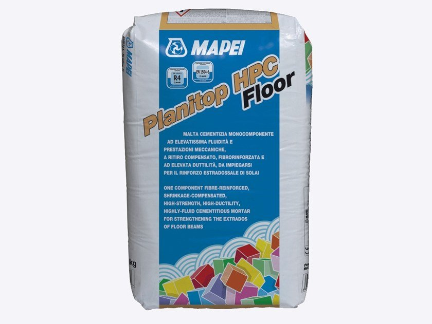 Fibre reinforced mortar PLANITOP HPC FLOOR by MAPEI