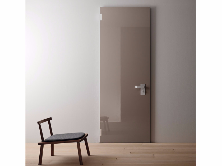 Lacquered safety door PLANK - 15.3002 by Bauxt