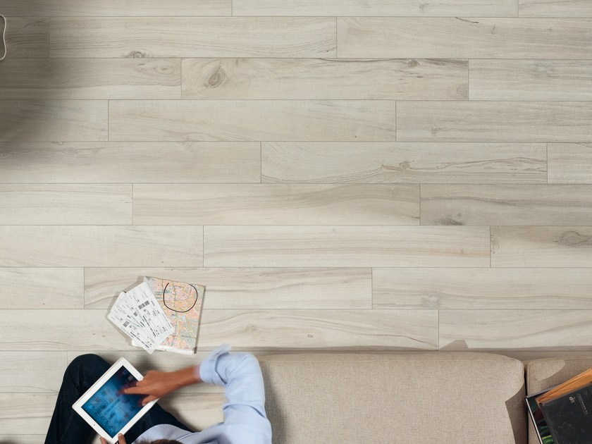 Porcelain stoneware wall/floor tiles with wood effect PLANKS ALMOND by ASTOR CERAMICHE