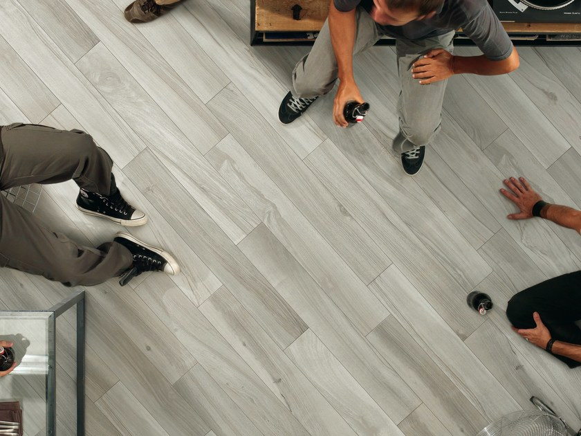 Porcelain stoneware wall/floor tiles with wood effect PLANKS PEARL by ASTOR CERAMICHE