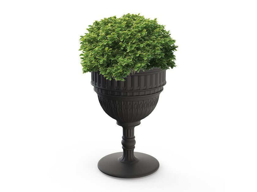 Polyethylene planter CAPITOL | Planter by Qeeboo