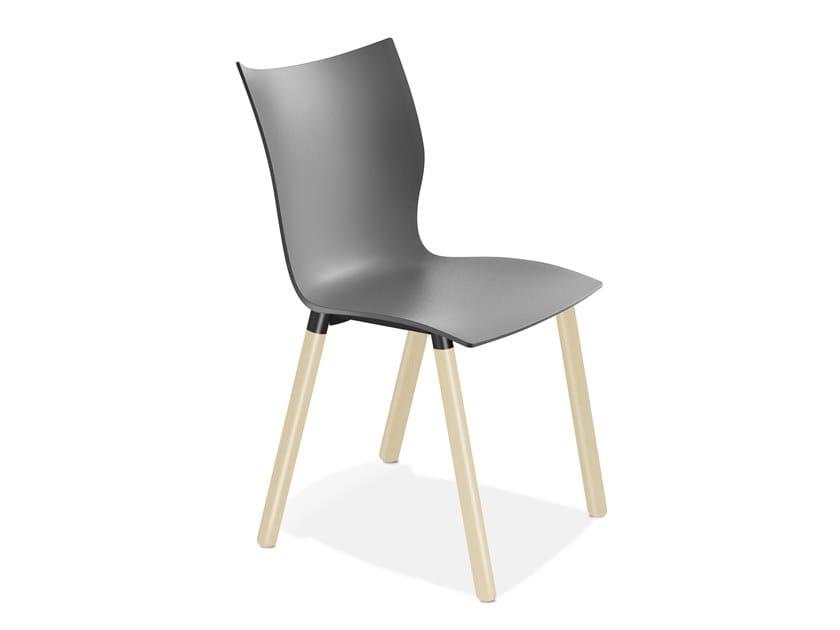 Plastic chair ONYX V | Plastic chair by Casala