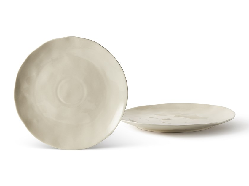 Porcelain stoneware plate SALVIA | Plate by Fill