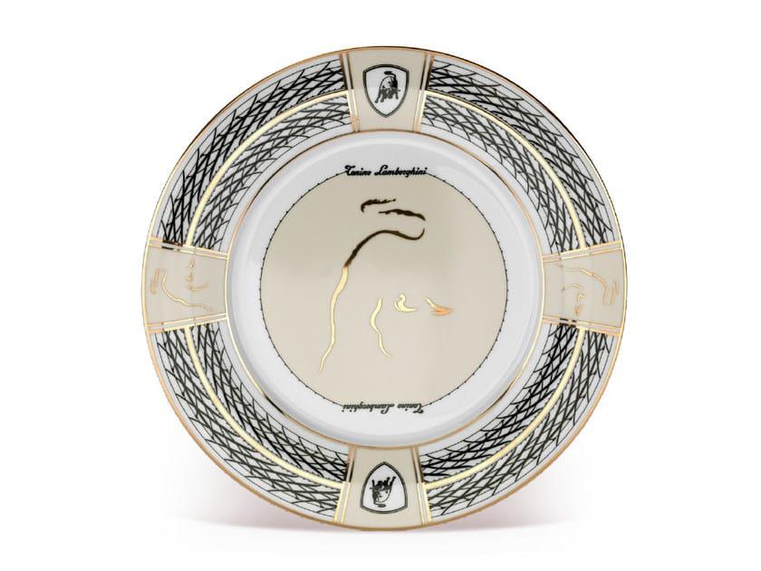 Piatto da portata in porcellana CIRCUIT | Piatto by Tonino Lamborghini Casa