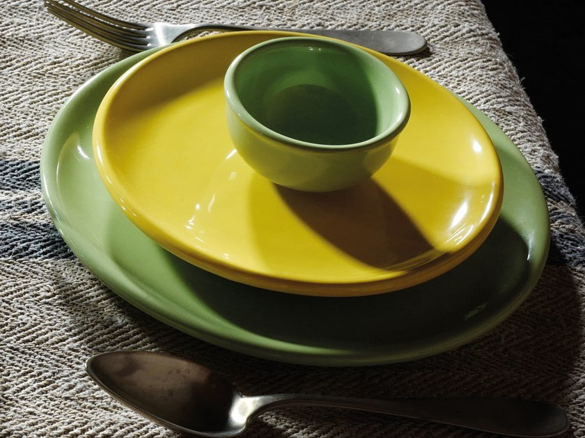 Ceramic plates set IL GRANCOLORE | Plates set by Cerasarda