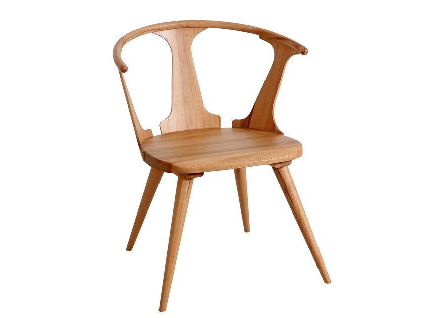 Solid wood chair PLATO by ALANKARAM