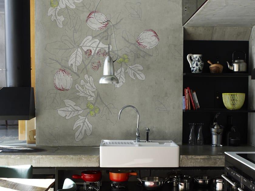 Bathroom wallpaper PLATONE by Wall&decò