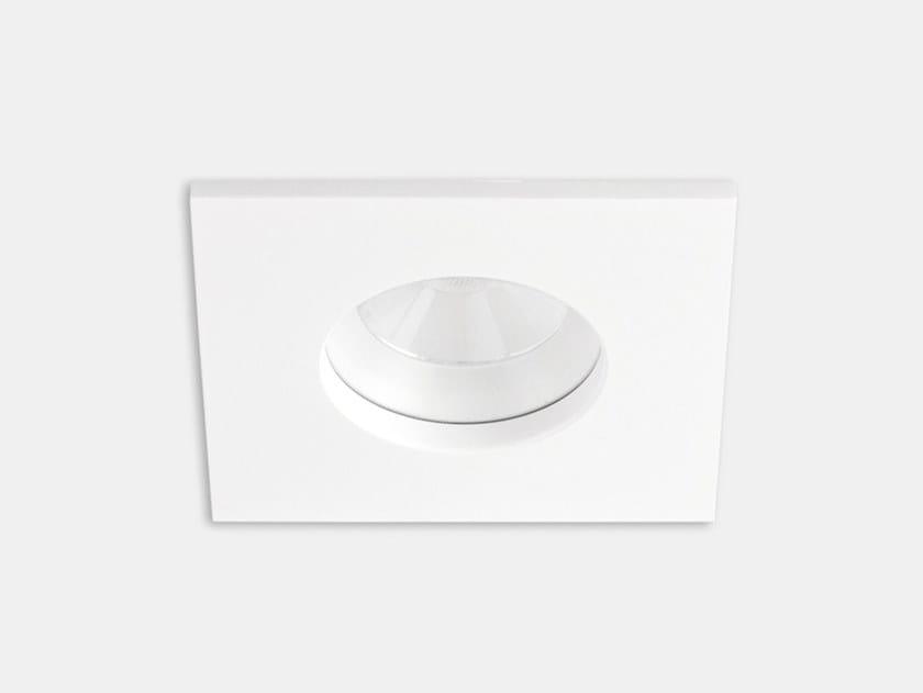 Faretto per esterno a LED in alluminio da incasso PLAY IP65 AG22 by LEDS C4