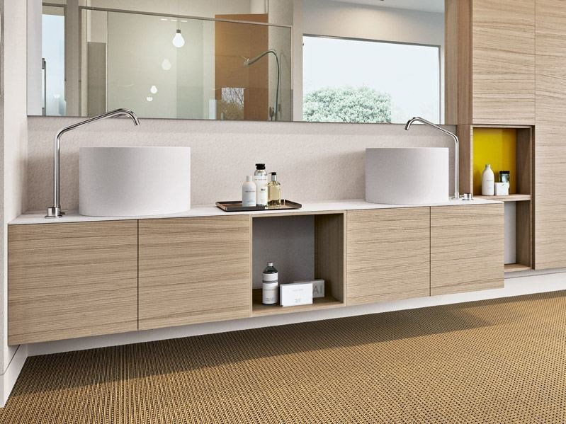Sectional vanity unit PLAY by MAKRO