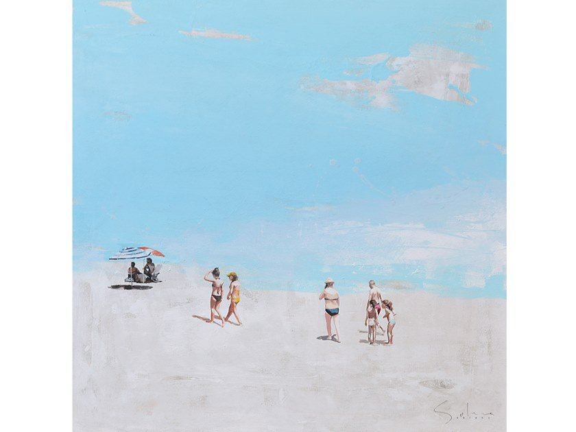 Canvas Painting Playa by NOVOCUADRO ART COMPANY