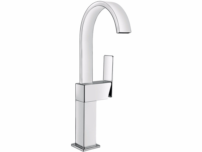 Countertop single handle washbasin mixer without waste PLAYONE 85 - 8514772 by Fir Italia