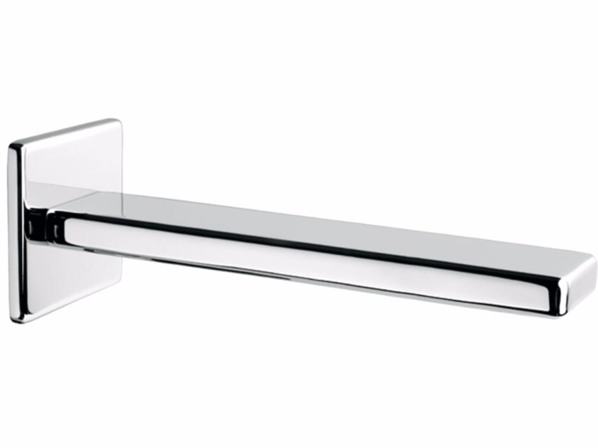 Chrome-plated wall-mounted spout PLAYONE 85 - 8546253 by Fir Italia